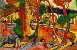 Andre Derain - The Turning Road, L'Estaque - 1906