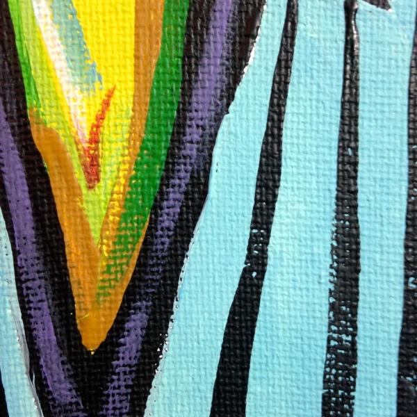 Close-Up 2 Mädchen in Einem Grünen Zimmer- Tribute to Ernst Ludwig Kirchner Acrylic on Canvas