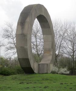 Broken cirle in Amsterdam- Ad Dekkers
