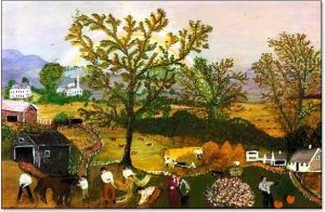 Moving Day on the Farm- Grandma Moses
