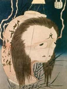 The Lantern Ghost, Iwa- Hokusai