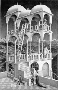 Belvedere- M.C. Escher