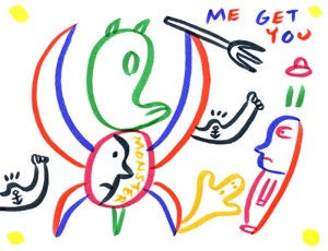 Me Got You (Drawing)- Jad Fair