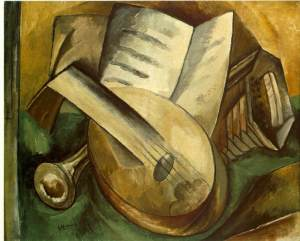 Musical Instruments 1908- Georges Braque