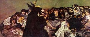 Witches' Sabbath- Francisco De Goya