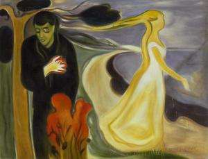 Separation- Edvard Munch
