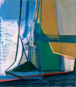 Amy Sillman, P, 2007, courtesy of the artist and Sikkema Jenkins & Co., New York.