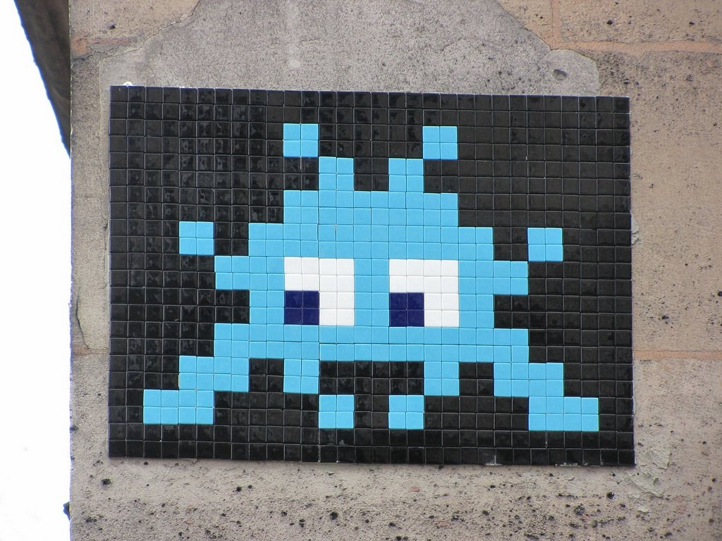 Day 305- Invader- Invasion! – Day of the Artist