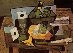 Still Life with Clarinet 1927- Georges Braque