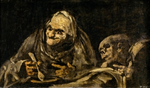 Old Men Eating Soup- Francisco De Goya