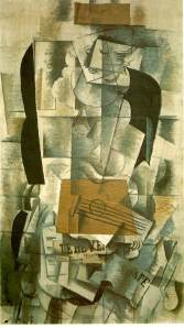 Woman with a Guitar 1913- Georges Braque