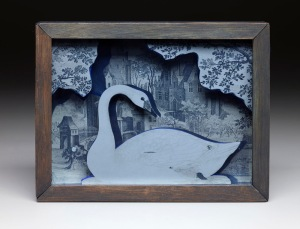 Untitled (Swan Box)- Joseph Cornell