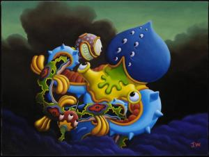 Maya and Mantra- Jim Woodring