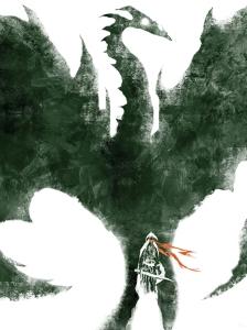Skyrim Poster- Jeffrey Alan Love