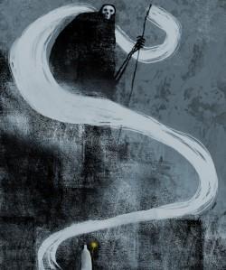 Night Upon the Mountain- Jeffrey Alan Love