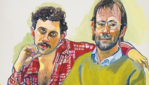 Geoffrey Hendricks and Brian, 1978- Alice Neel