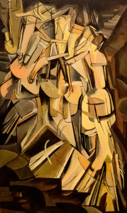 Nude Descending a Staircase- Marcel Duchamp