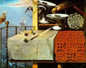 Still Life Moving Fast- Salvador Dali
