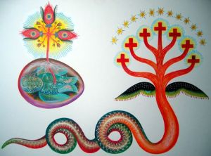 "DANIEL HIGGS ""Cryptozoomorphic Hierograms"" Exhibition"