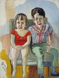 Abe's Grandchildren- Alice Neel
