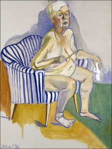 Self-Portrait- Alice Neel