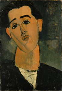 Portrait of Juan Gris- Amedeo Modigliani