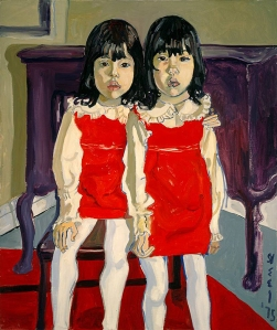 The De Vegh Twins, 1975- Alice Neel