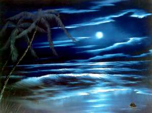 Blue Moon- Bob Ross