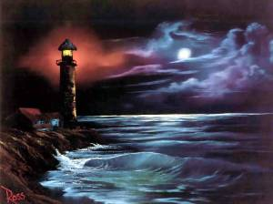 Night Light- Bob Ross