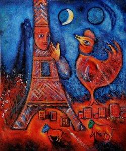 Bonjour Paris- Marc Chagall