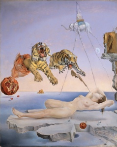 Dream Caused by the Flight of a Bee around a Pomegranate a Second Before Awakening- Salvador Dali
