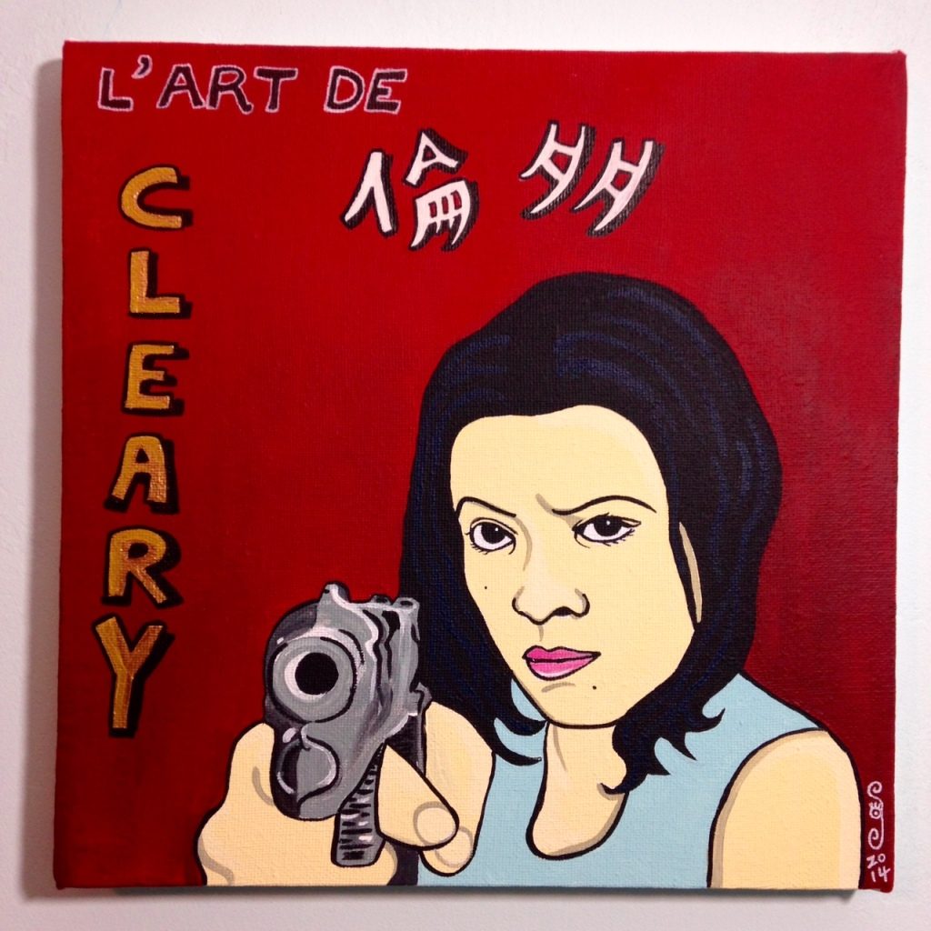 L' Art De Linda Cleary- Tribute to R. Black Linda Cleary 2014 Acrylic on Canvas