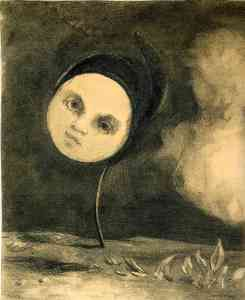 Head on a Stem- Odilon Redon