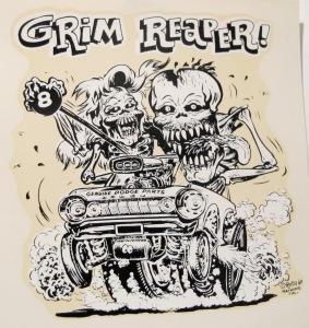 Grim Reaper- Ed Roth