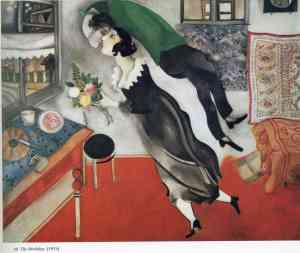 Birthday 1915- Marc Chagall