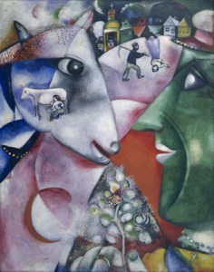I and the Village- Marc Chagall