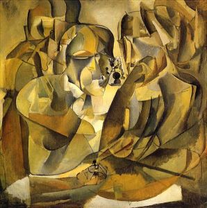 Portrait of Chess Players- Marcel Duchamp
