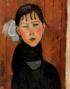 Marie Daughter of the People- Amedeo Modigliani