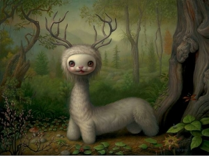 Yoshi the Forest Spirit- Mark Ryden