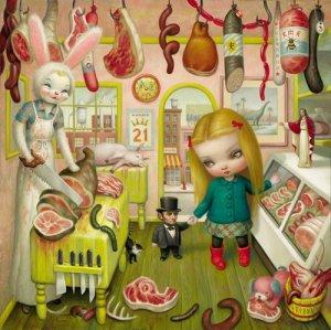 The Butcher Bunny- Mark Ryden