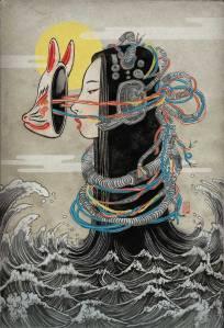 Melancholy of Mechagirl book cover- Yuko Shimizu
