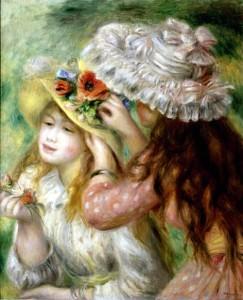La Grenouillere (Bathing at la Grenouiller) -Pierre-Auguste Renoir