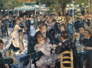 Le Moulin de la Galette- Pierre-Auguste Renoir