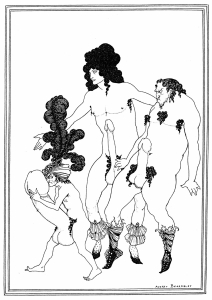 Illustrations to Lysistrata- Aubrey Beardsley