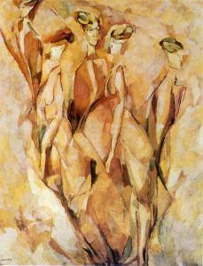Portrait of Dulcinea- Marcel Duchamp
