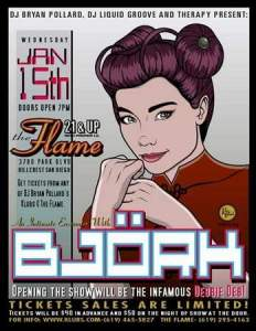 Bjork Poster- R. Black
