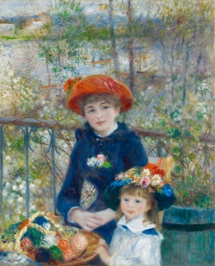 The Two Sister on the Terrace- Pierre-Auguste Renoir