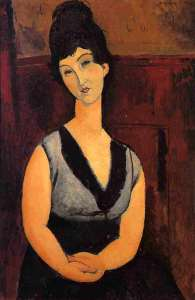 The Beautiful Confectioner- Amedeo Modigliani