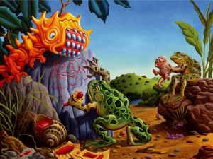 The Legend- Jim Woodring