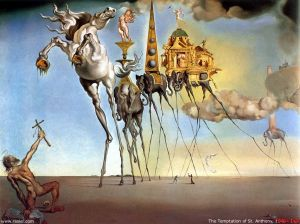 The Temptation of St. Anthony- Salvador Dali